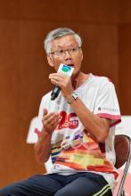 健康義工代表 練國先生分享