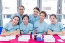 護理系學生歡迎健康義工 照片一